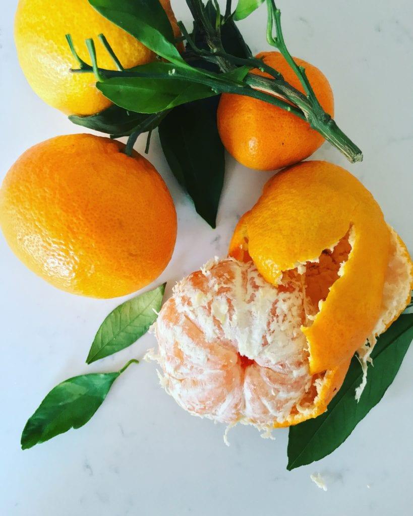 winter tangerines