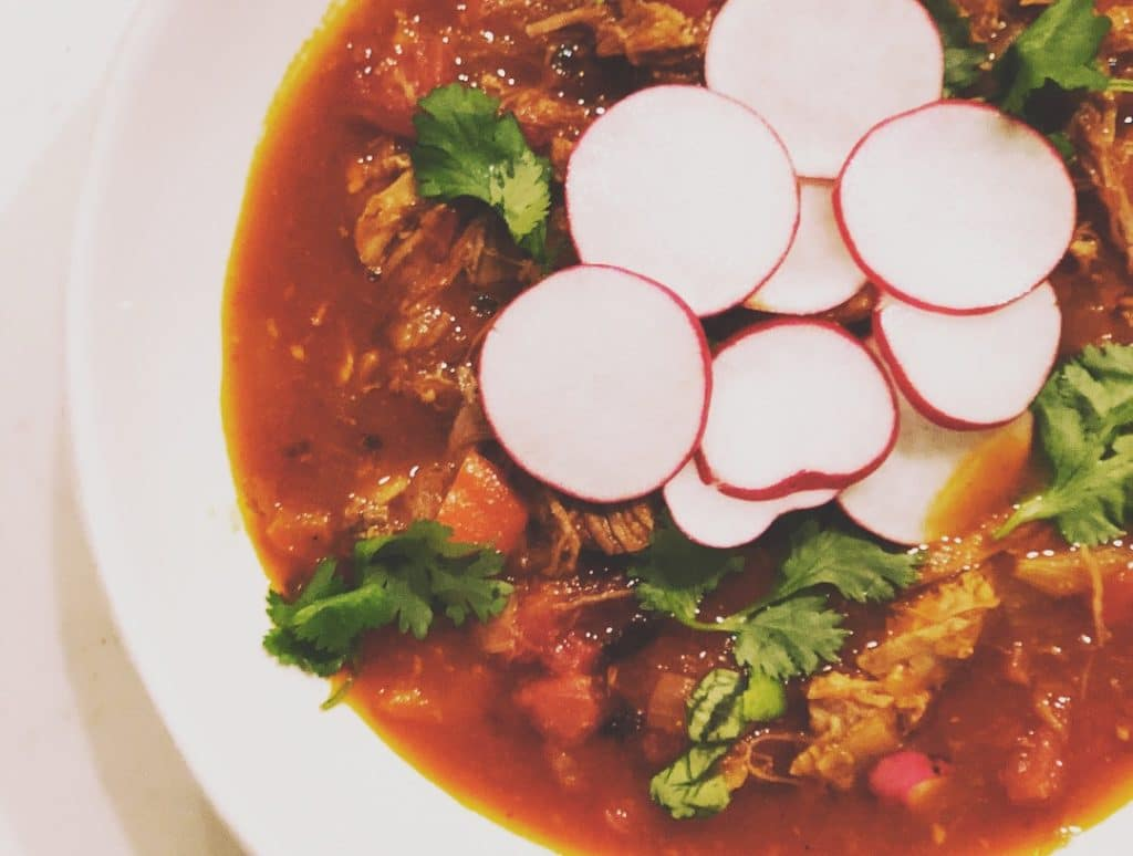 red enchilada soup