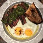 gjusta copycat steak and eggs