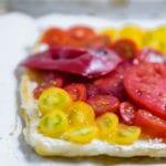 za'atar tomato tart
