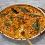 butternut squash baked pasta
