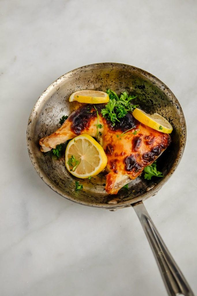 Recipe for buttermilk roasted chicken